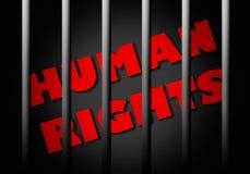 Rechten van de mens royalty-vrije illustratie