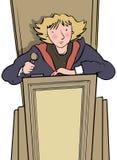 rechter royalty-vrije illustratie