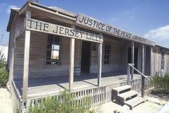 Rechter Roy Bean Museum in Langtry, TX Royalty-vrije Stock Foto