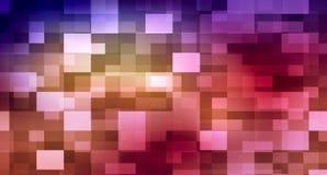 Rechthoek abstracte achtergrond Stock Foto's