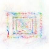 Rechthoek abstracte achtergrond Royalty-vrije Stock Foto's