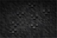 Rechthoek donker pixel Royalty-vrije Stock Afbeelding