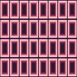 Rechthoeken van roze en violette kleuren vector illustratie