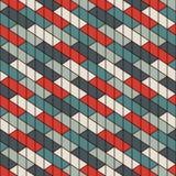 Rechthoekig met elkaar verbindend blokkenbehang De achtergrond van het parket Het naadloze ontwerp van het oppervlaktepatroon met vector illustratie