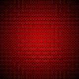 Rechthoekige achtergrond met het patroon van Harten stock afbeelding