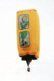 Rechthoekige hete luchtballon Royalty-vrije Stock Afbeeldingen