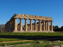 Rechthoekige tempel Stock Foto's