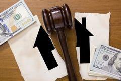 Rechtsabteilung des Eigentums Lizenzfreies Stockbild