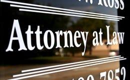 Rechtsanwalt am Gesetz Lizenzfreie Stockbilder