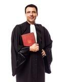 Rechtsanwaltmannporträt Stockfoto