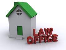 Rechtsanwaltsbüro Lizenzfreies Stockfoto