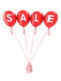 Rechtschreibungsverkauf des roten Ballons Lizenzfreies Stockbild