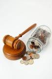 Rechtskosten stockbilder