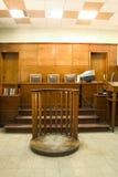 Rechtszaal Royalty-vrije Stock Afbeeldingen