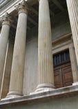 Rechtvaardigheid en gerechtsgebouw Royalty-vrije Stock Foto