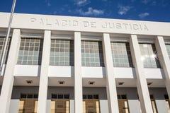 Rechtvaardigheid Palace Stock Afbeeldingen
