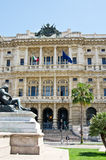 Rechtvaardigheid Palace op Piazza Cavour, Rome Royalty-vrije Stock Foto
