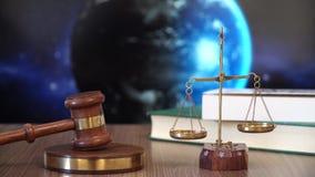 Rechtvaardigheid voor Aarde stock footage