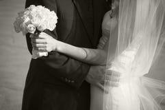 Recién casado Fotos de archivo libres de regalías