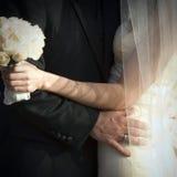 Recién casado Imagen de archivo libre de regalías