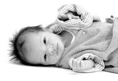 Recién nacido Foto de archivo