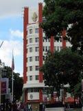 Reciba el edificio en el grupo ilegal constitutivo y el gobierno de la asamblea nacional foto de archivo