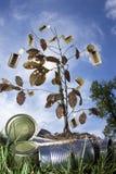 Recicl a árvore Imagem de Stock Royalty Free