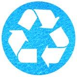 Recicl da água Fotografia de Stock