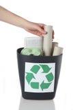 Recicl de papel Imagem de Stock Royalty Free