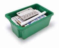 Recicl de papel Fotografia de Stock