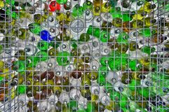 Recicl de vidro Fotos de Stock Royalty Free