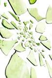 Recicl de vidro Imagem de Stock