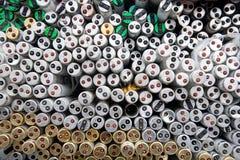 Recicl do recurso das câmaras de ar fluorescentes Imagens de Stock Royalty Free
