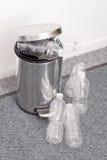 Recicl frascos plásticos Imagem de Stock Royalty Free