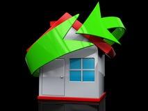 Recicl Home Fotos de Stock Royalty Free