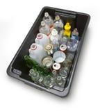 Recicl Home Imagens de Stock