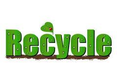 Recicl a ilustração Fotografia de Stock Royalty Free