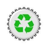 Recicl a ilustração do tampão Foto de Stock Royalty Free