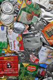 Recicl latas Foto de Stock