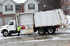 Recicl o caminhão Fotografia de Stock