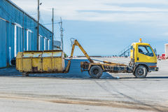 Recicl o caminhão Imagem de Stock