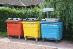 Recicl o centro Imagens de Stock