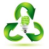 Recicl o cfl Fotografia de Stock