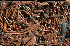 Recicl o cobre Fotografia de Stock