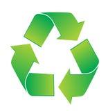 Recicl o ícone Imagens de Stock