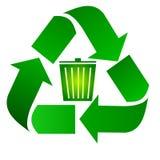 Recicl o escaninho ilustração stock
