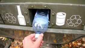 Recicl o escaninho Imagens de Stock