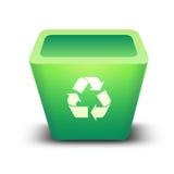 Recicl o escaninho Imagem de Stock