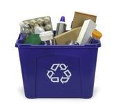 Recicl o escaninho Imagem de Stock Royalty Free