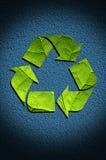 Recicl o fundo do ícone Foto de Stock